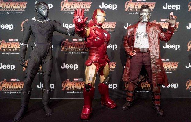 Avengers: Infinity War, le immagini e i commenti dall'anteprima milanese