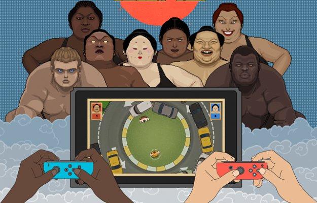 Circle of Sumo: la sfida degli Yokozuna su Nintendo Switch!