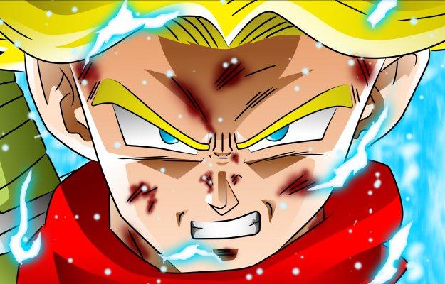 DB Super: scopriamo il nuovo Trunks della saga Black Goku
