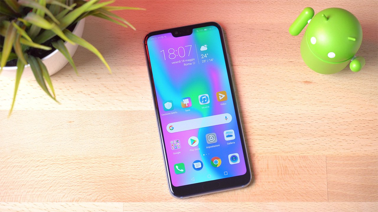 Honor 10: il best buy borderless prestante e attraente