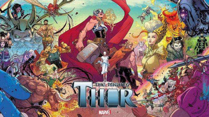 Jason Aaron, colazione con il Dio dei fumetti Marvel