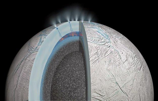 La vita nello spazio potrebbe nascondersi negli oceani di Europa ed Encelado