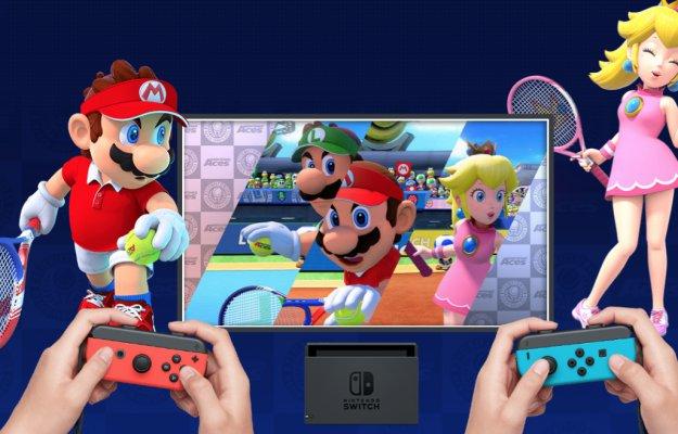 Mario Tennis Aces: Grande Slam nel Regno dei Funghi!