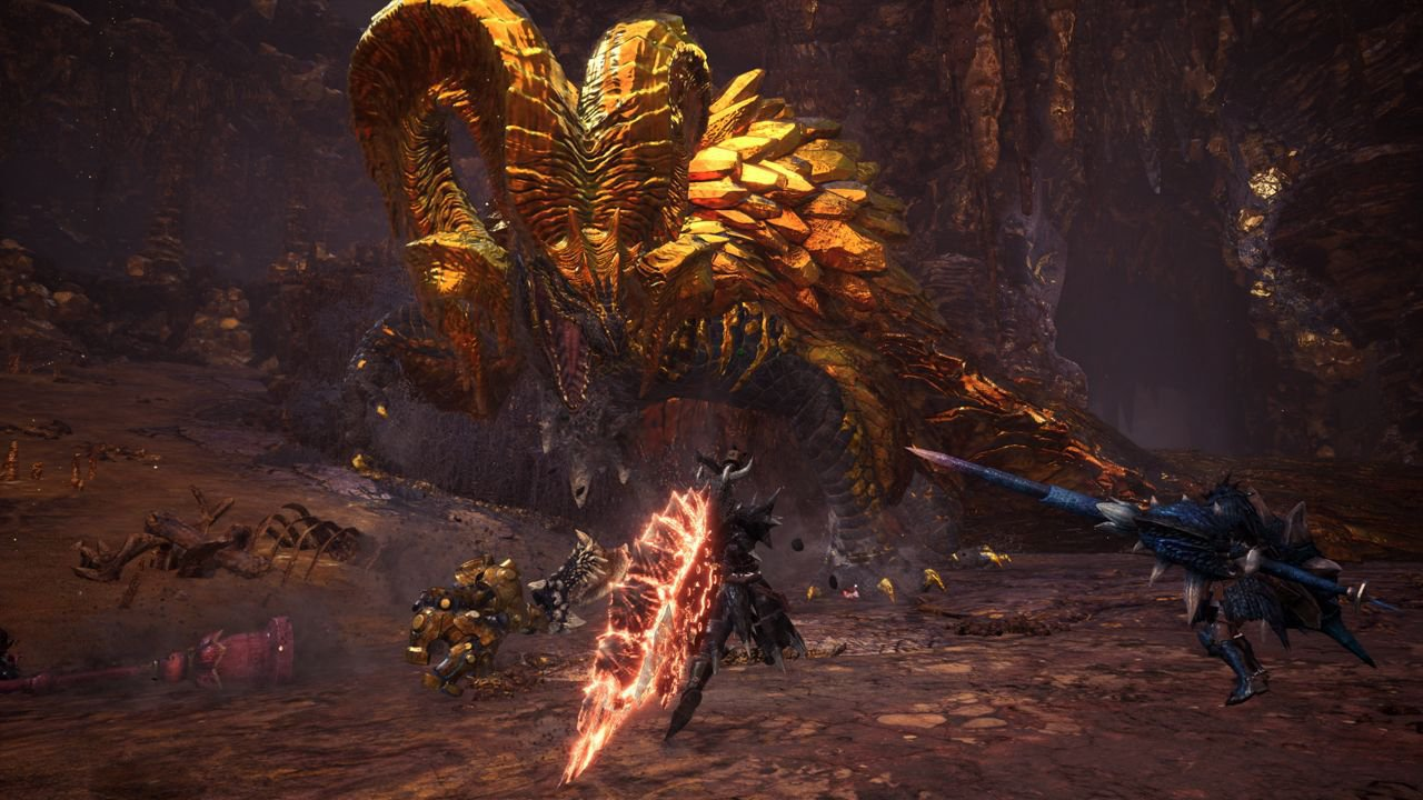 Monster Hunter World: assedio al Kulve Taroth