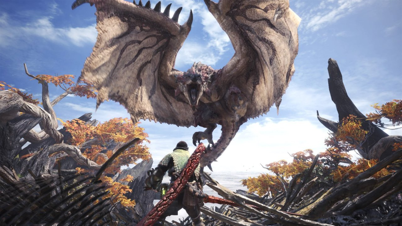 Monster Hunter World: la bellezza della caccia offline