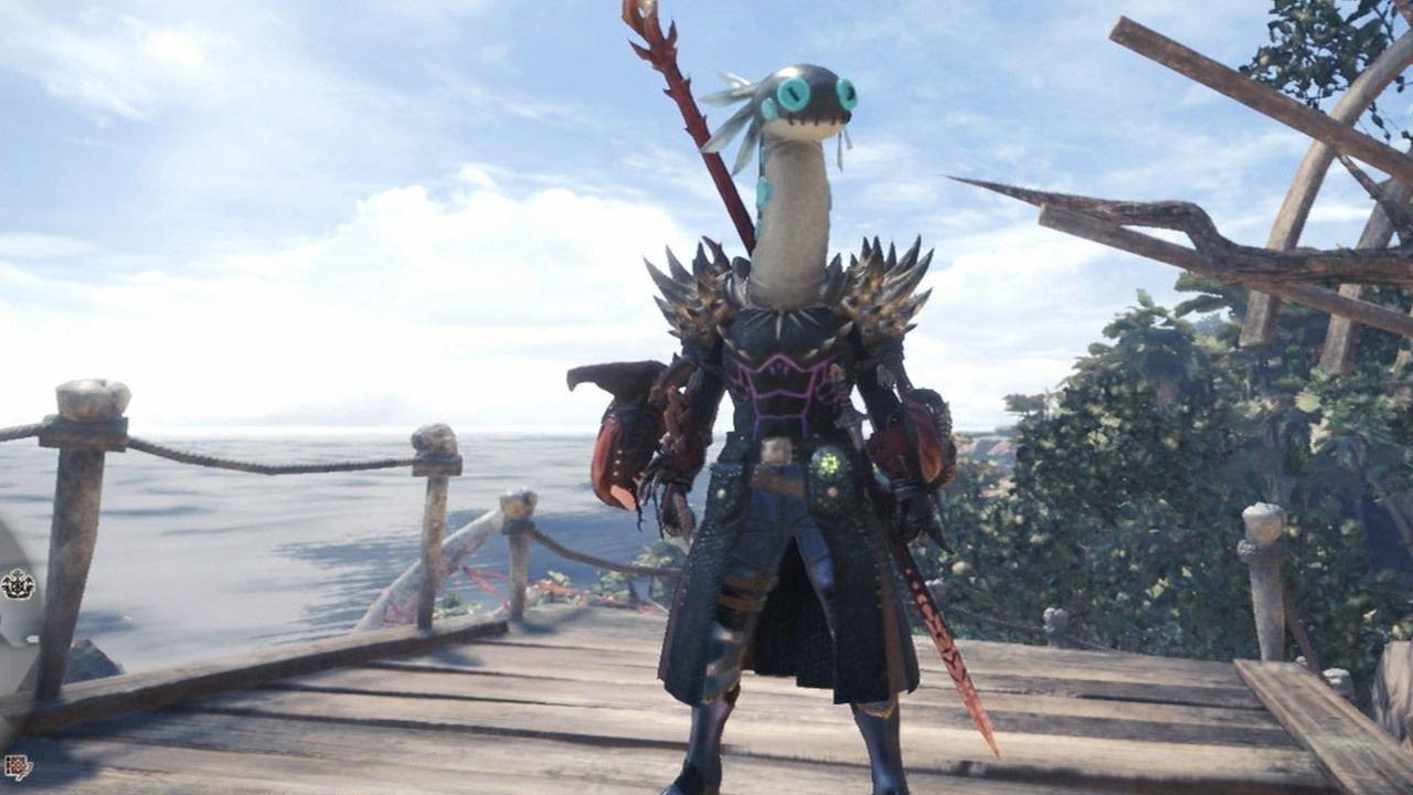 Monster Hunter World Guida: come ottenere il copricapo Testa di Tremogliola