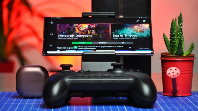 Note 20 Ultra e xCloud: il gaming in streaming di Microsoft alla prova