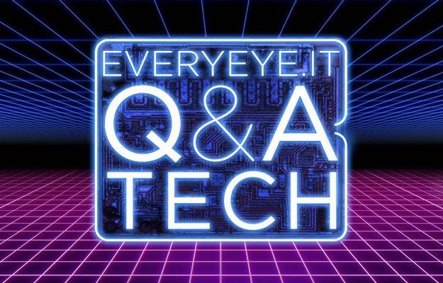 Q&A Tech ora in diretta su Twitch e YouTube