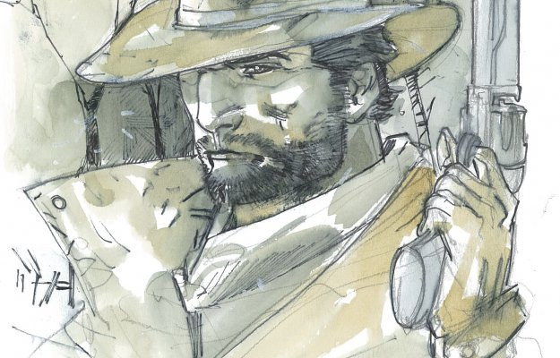 Red Dead Redemption 2: Arthur Morgan disegnato da Carmine Di Giandomenico