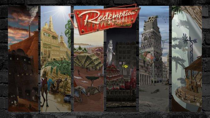 Redemption CCG, gioco di carte collezionabili post-atomico