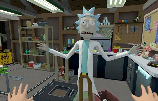 Rick and Morty Virtual Rick-ality: la folle serie di Adult Swim arriva su PSVR