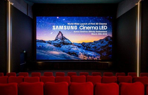 Samsung Cinema LED: la sala cinematografica senza proiettore arriva in Europa