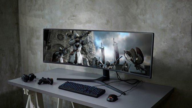 Samsung CRG9: al CES il monitor gaming da 49 pollici 32:9 con HDR e 120 Hz