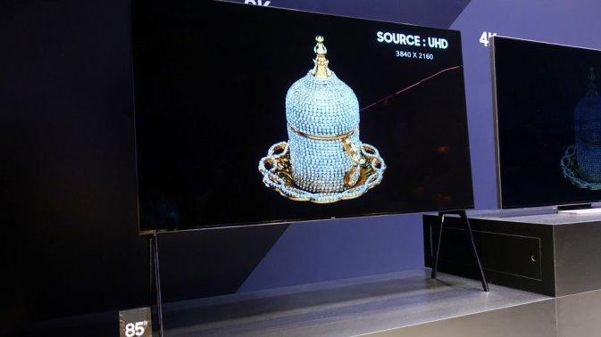 Samsung QN85Q9S: l'incredibile TV QLED HDR 8K con luminosità di 4000 nit