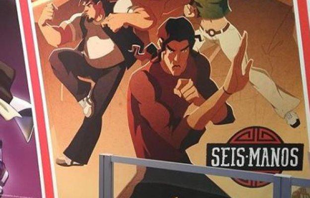 Seis Manos: il primo poster dell'anime Netflix dagli autori di Castlevania