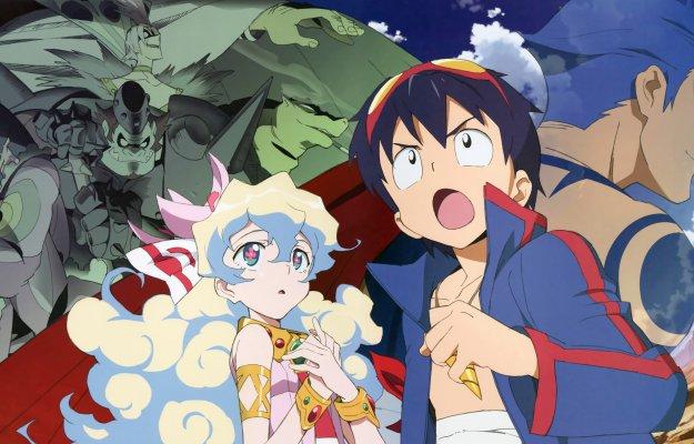 Sfondamento dei cieli Gurren Lagann: Recensione dell'anime di Gainax e Konami
