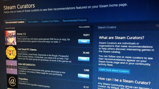 Steam e le recensioni degli utenti