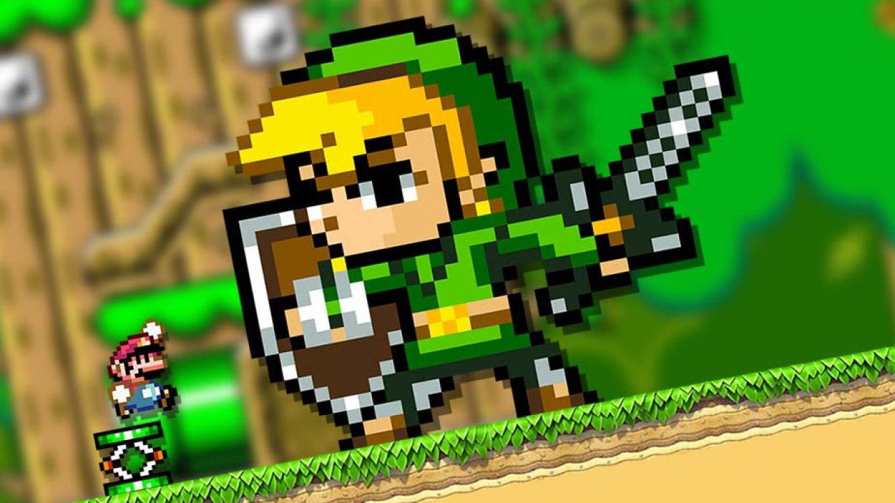 Super Mario Maker 2: crossover con Zelda nell'aggiornamento di dicembre