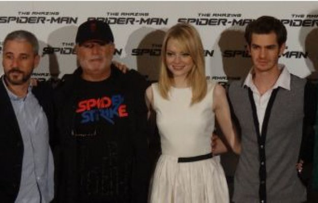 The Amazing Spider-Man: conferenza stampa col cast
