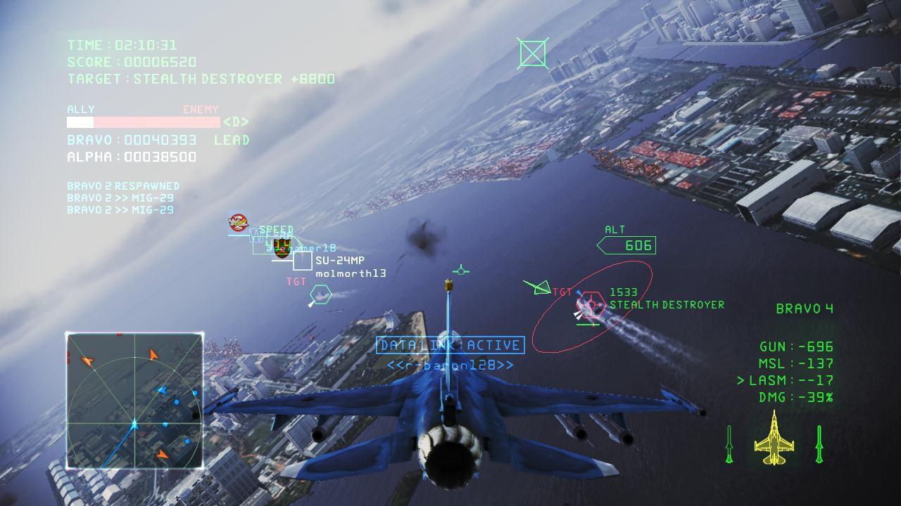 hands on Ace Combat: Infinity