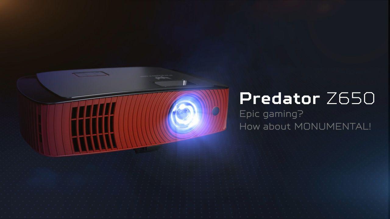 recensione Acer Predator Z650: il proiettore pensato per i gamer