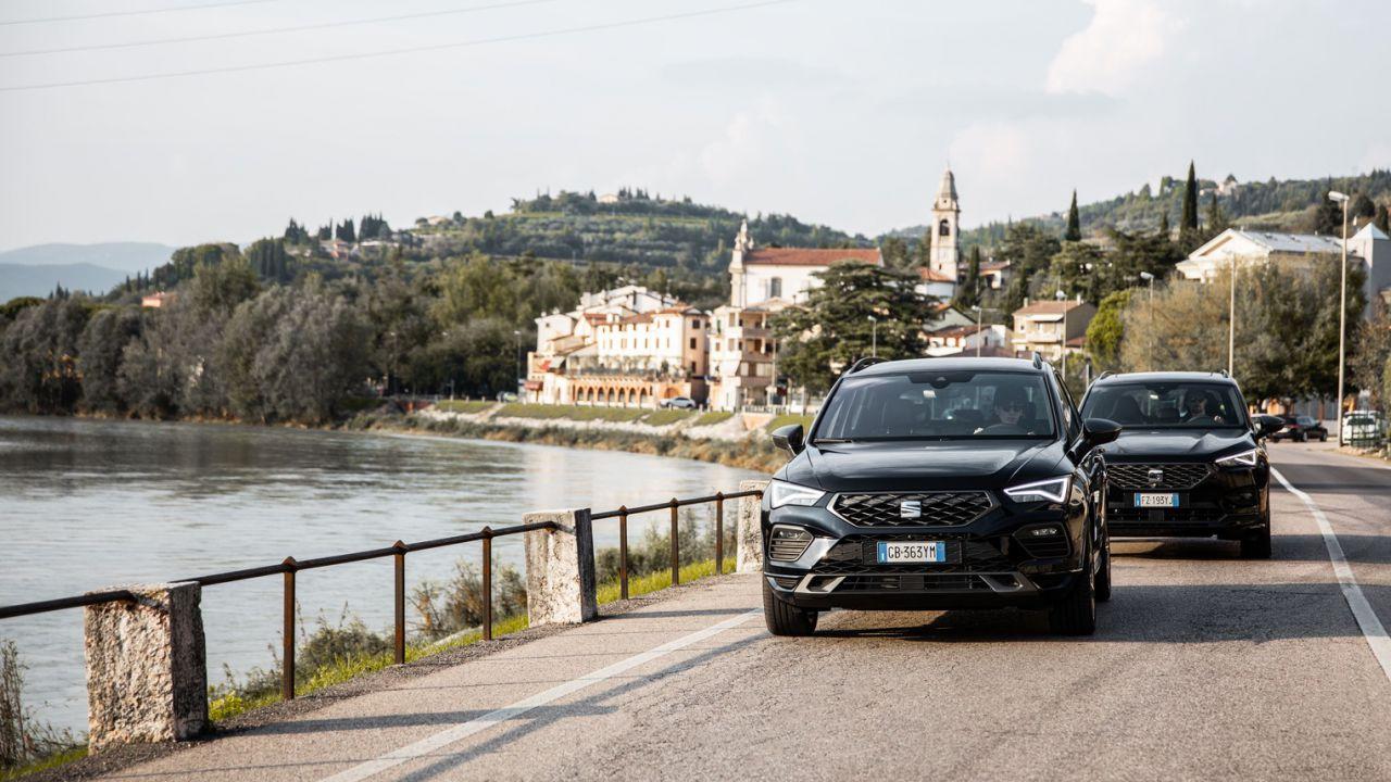 Alla guida delle nuove SEAT Ateca FR e Tarraco FR 2020
