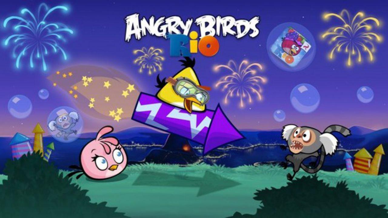 recensione Angry Birds Rio