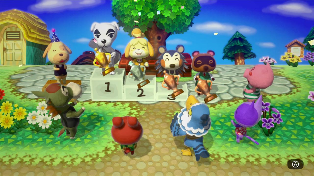 anteprima Animal Crossing Amiibo Festival