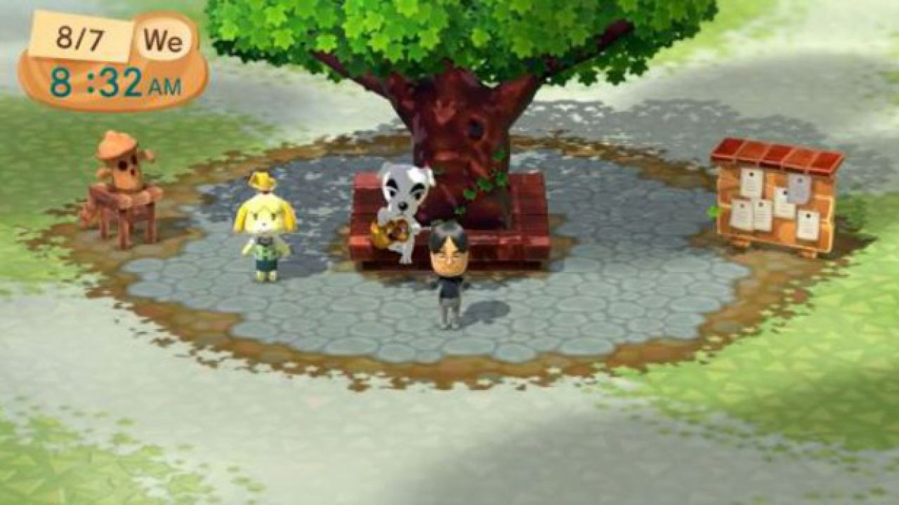 hands on Animal Crossing New Leaf