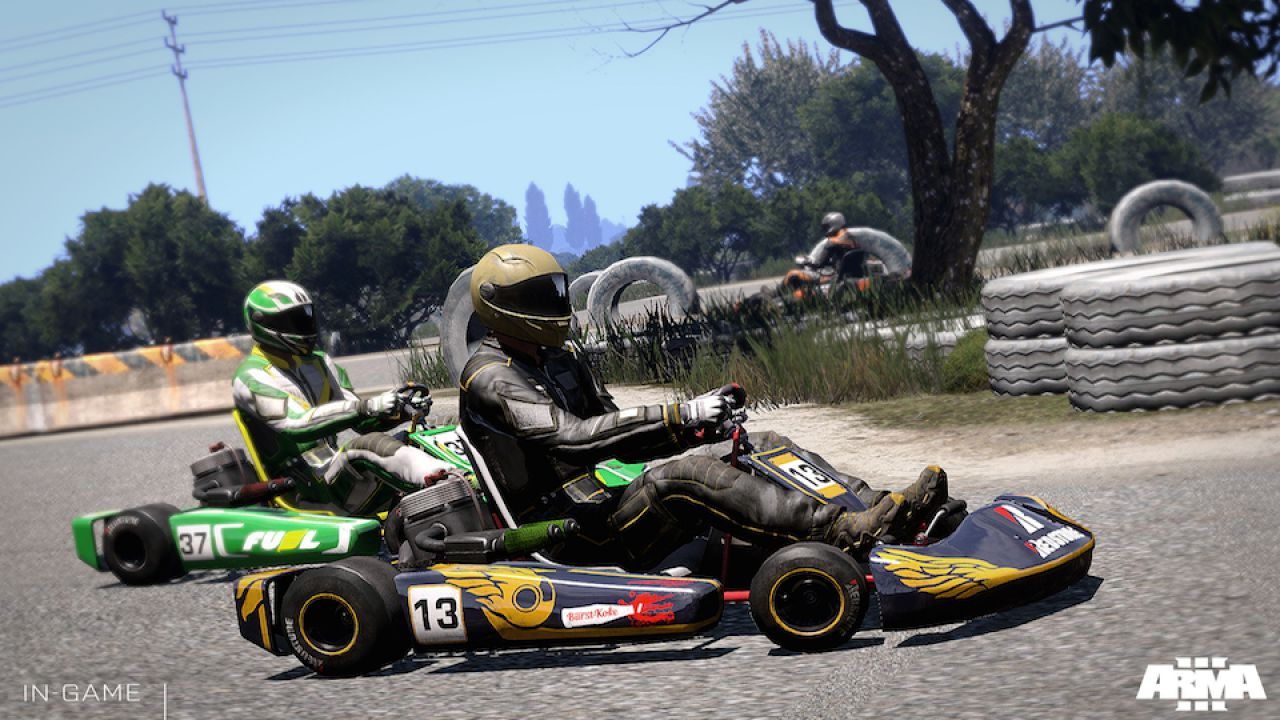 hands on Arma 3