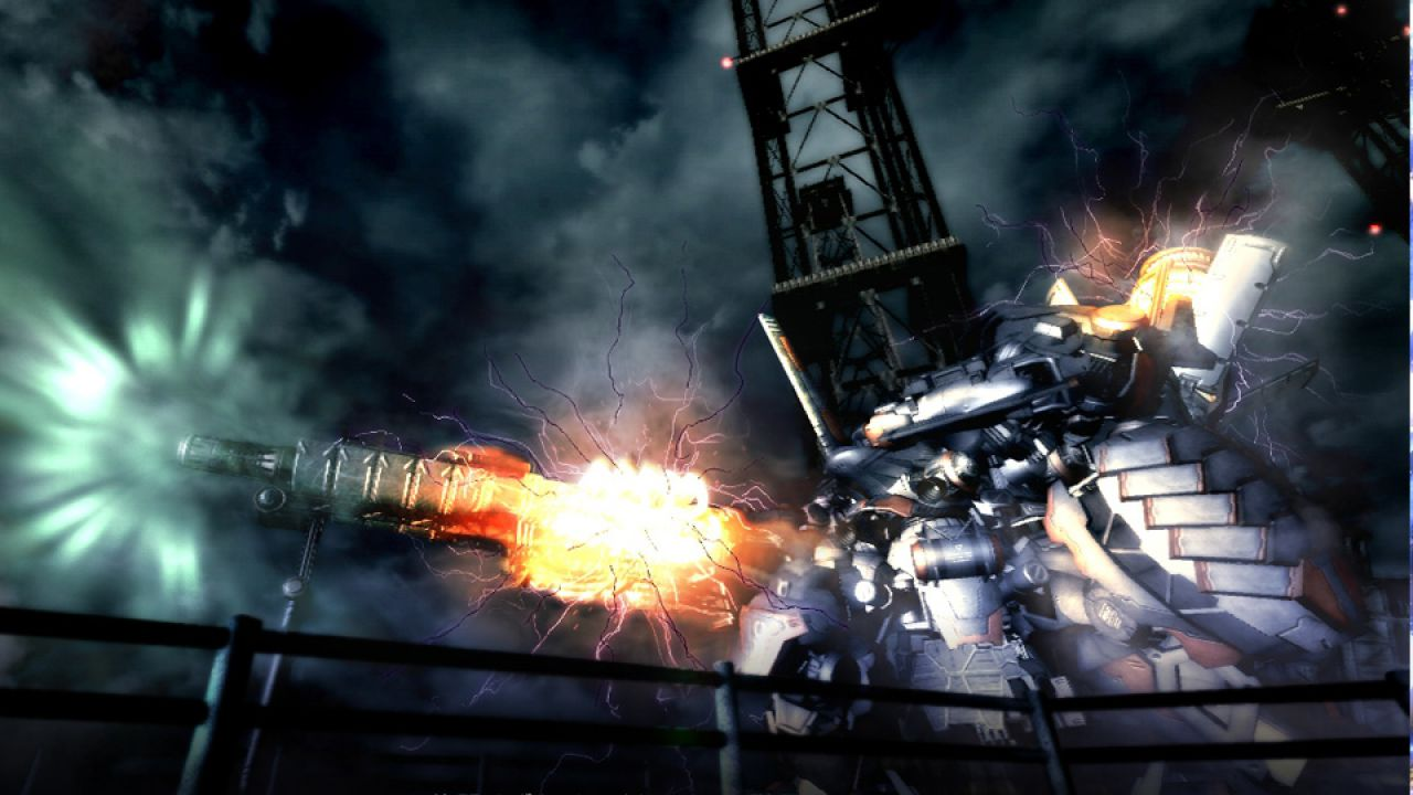 hands on Armored Core 5