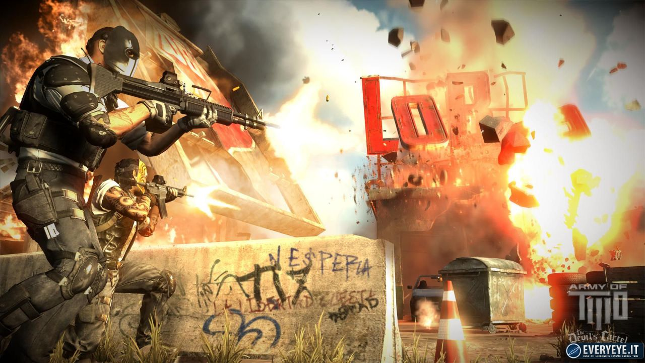 hands on Army of Two: The Devil's Cartel