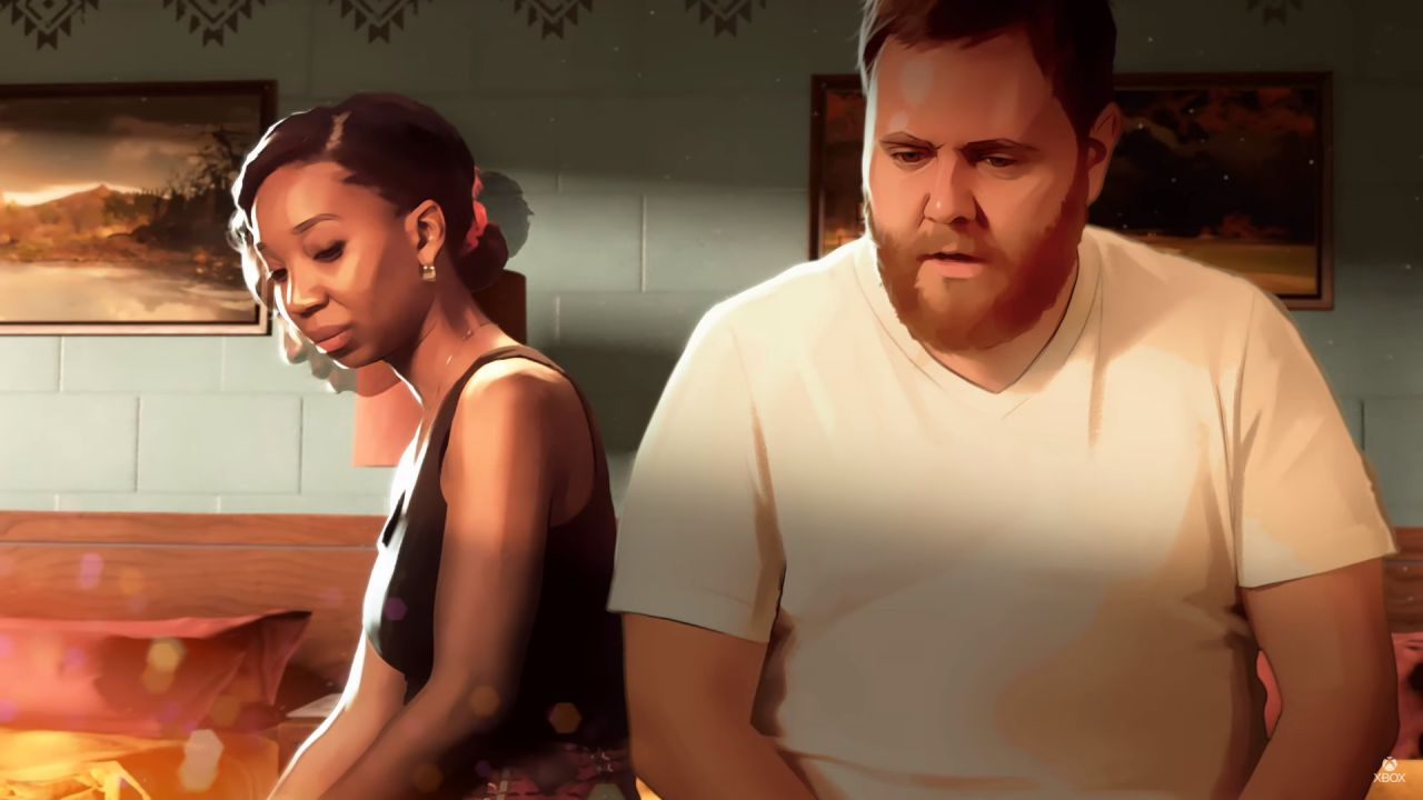 anteprima As Dusk Falls: interactive drama tra graphic novel e film su Xbox Series X