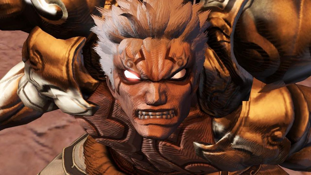 hands on Asura's Wrath