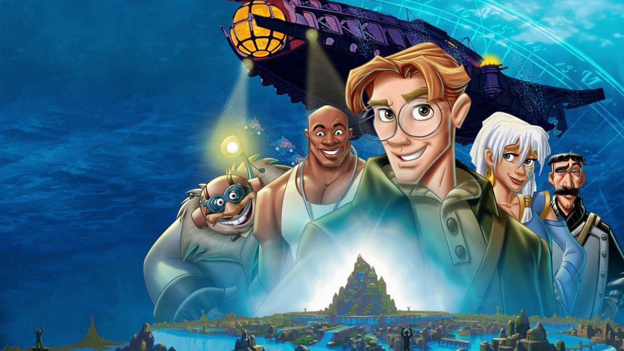 speciale Atlantis, l'Impero Perduto della Disney tra le mani di Trousdale e Wise