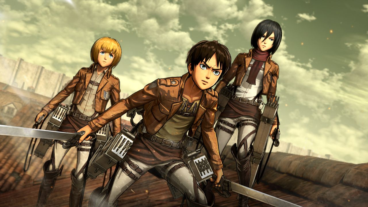 recensione Attack on Titan: Wings of Freedom