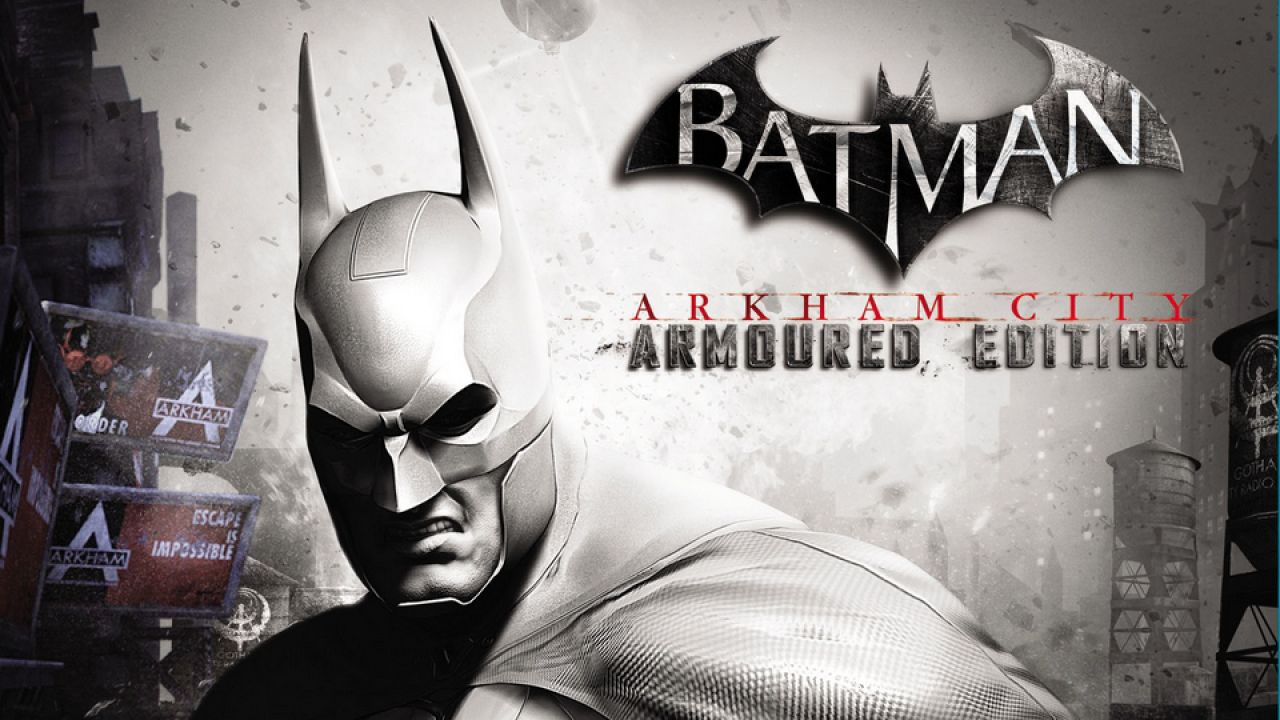 hands on Batman Arkham City Armored Edition
