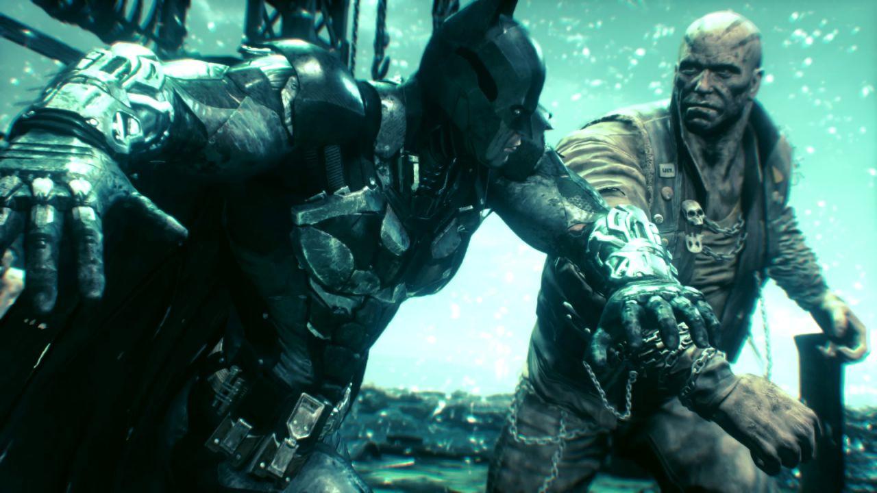 speciale Batman Arkham Knight - Nuovi scatti di Electric Blue Skies