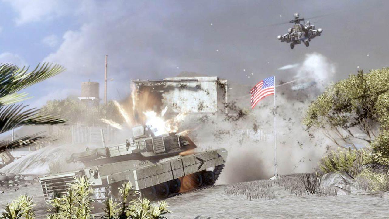 hands on Battlefield: Bad Company 2
