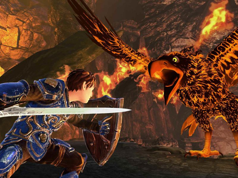 Beast Quest Recensione: un action RPG basato sui romanzi di Adam Blade
