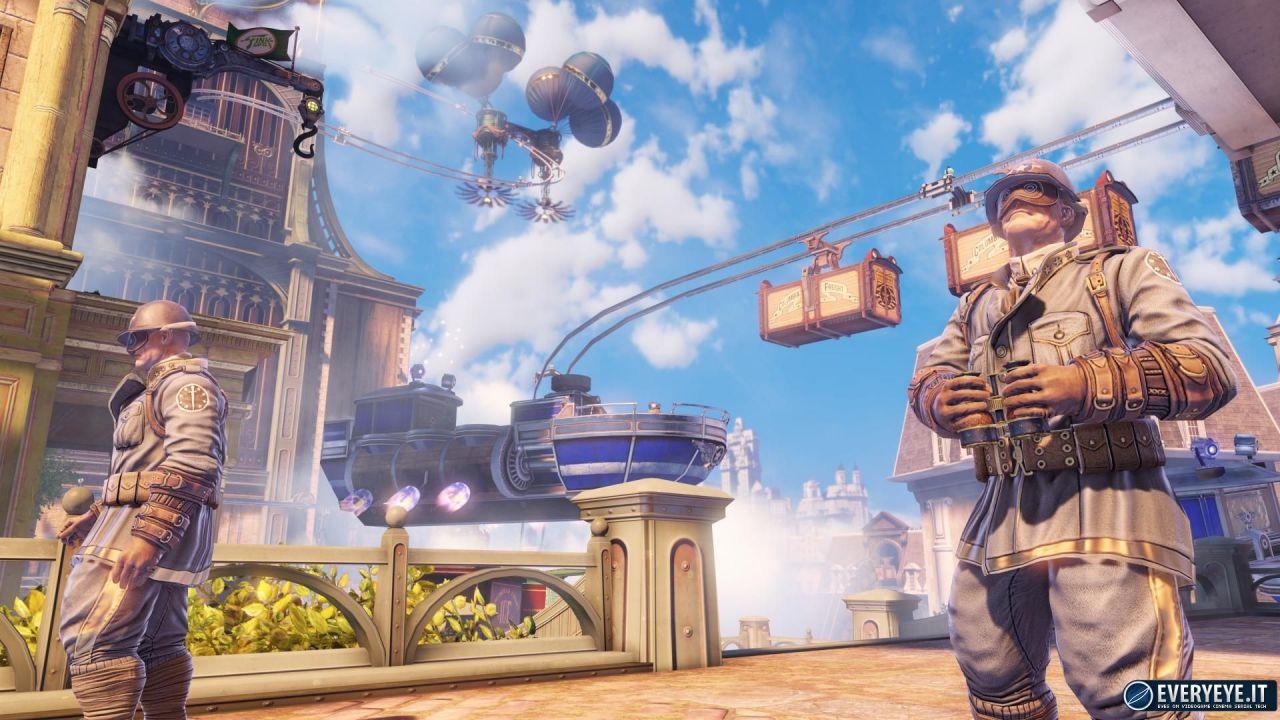 anteprima Bioshock Infinite - Le bestie dell'America