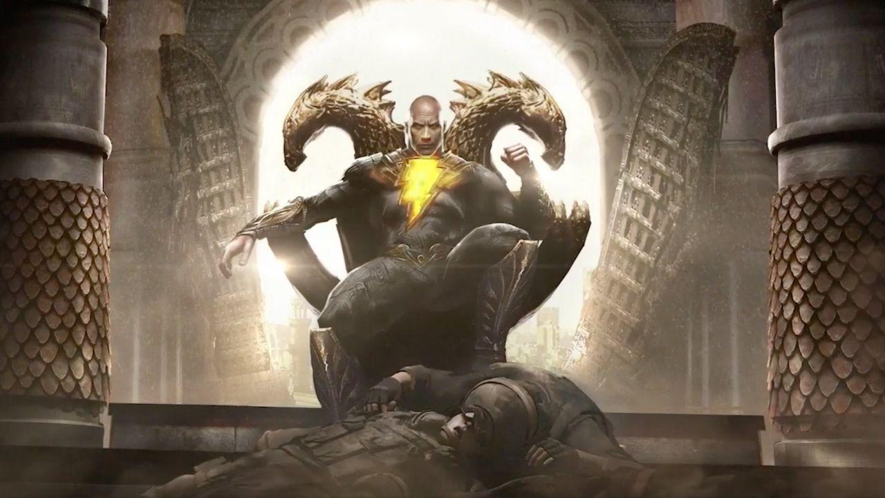 Black Adam, la Super Divinità di Dwayne Johnson è pronta a scuotere la DC