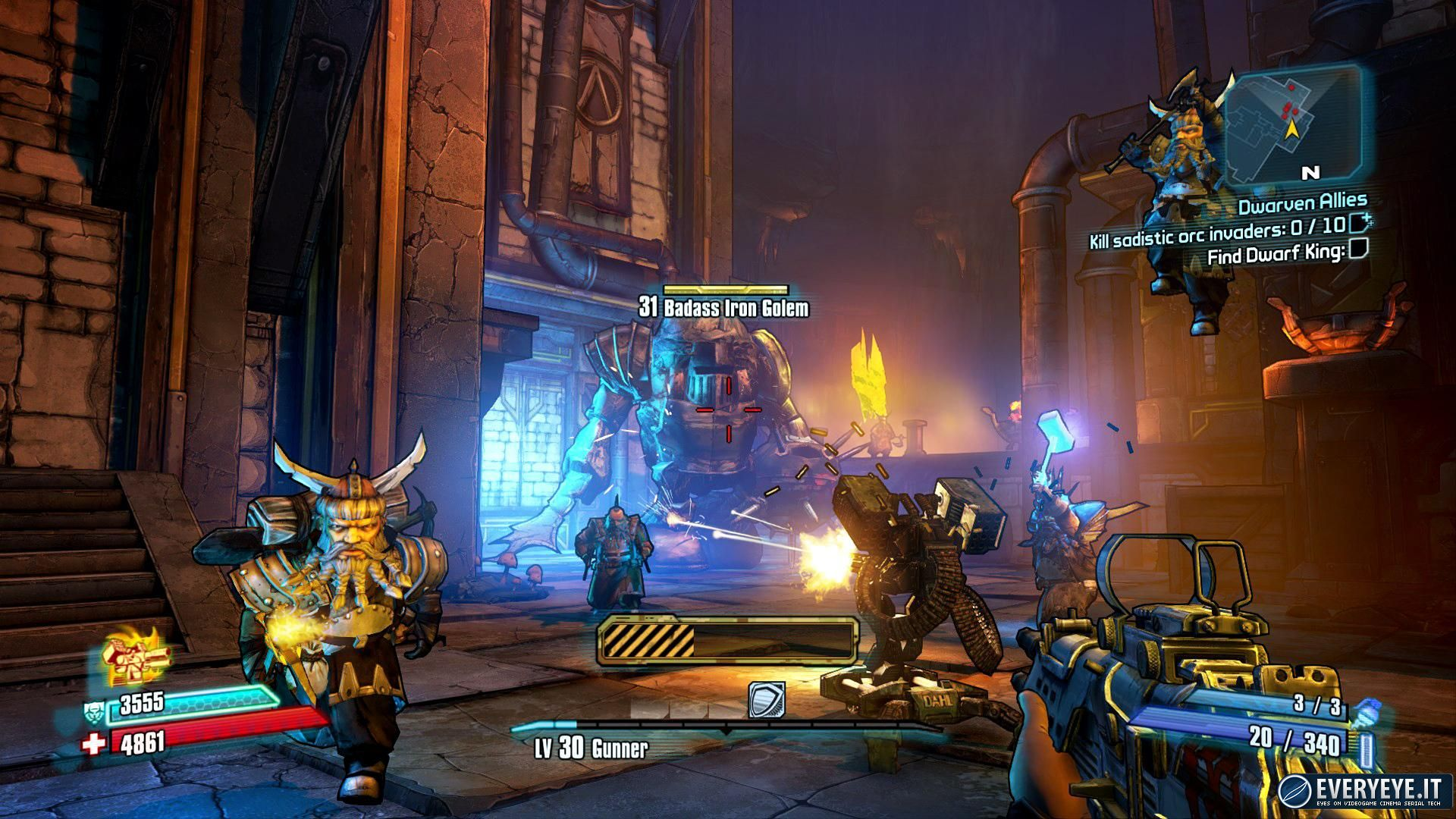 Come funziona il matchmaking in Borderlands 2