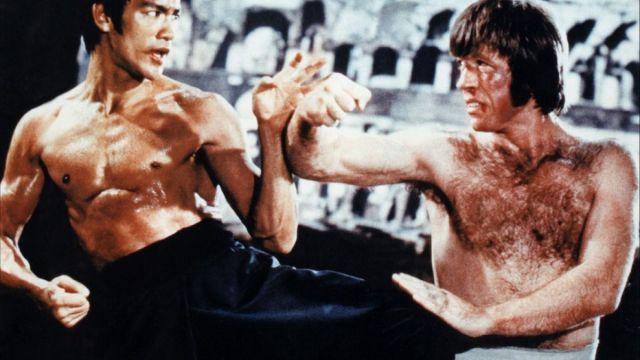 Bruce Lee vs Chuck Norris: uno scontro diventato leggenda