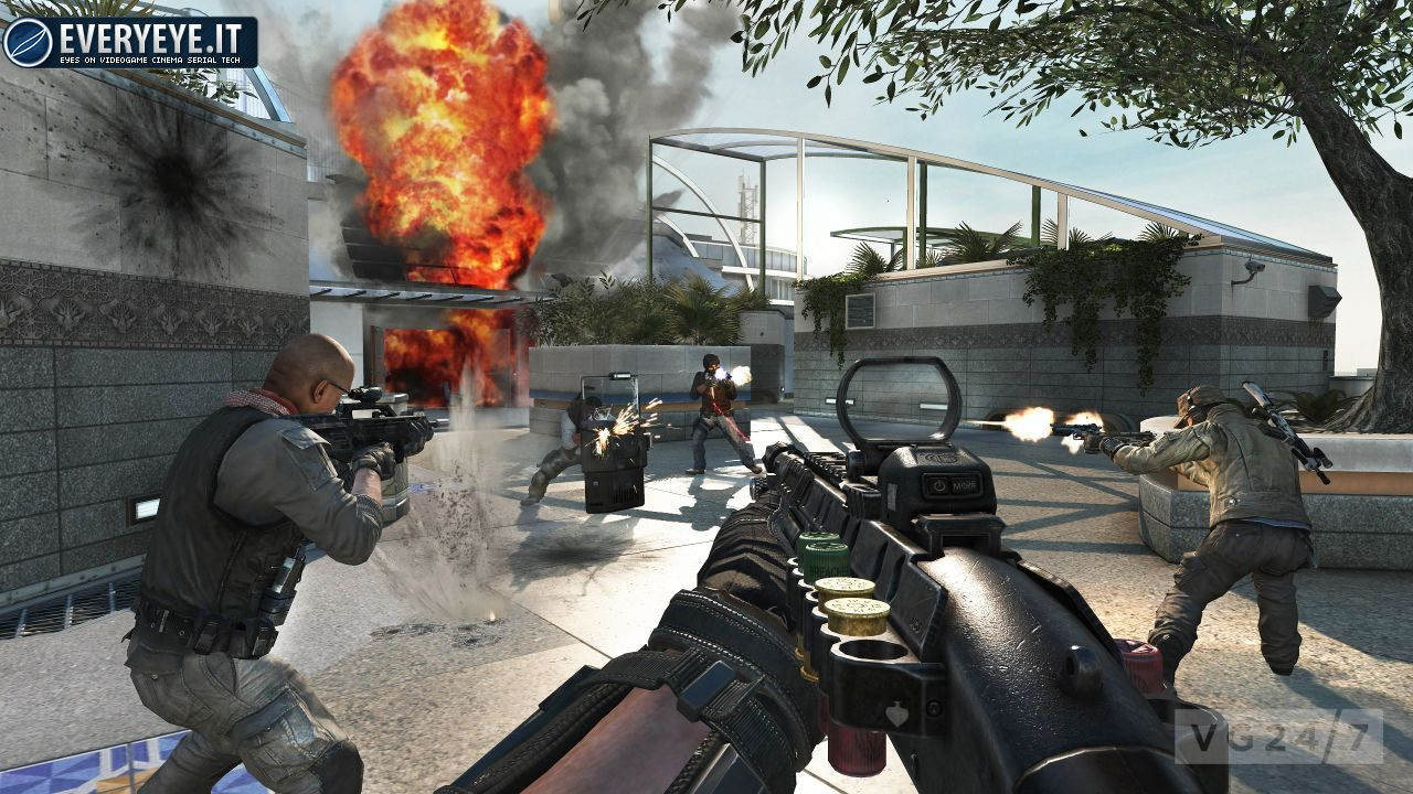 anteprima Call of Duty: Black Ops II - Mappe Multiplayer e Engine