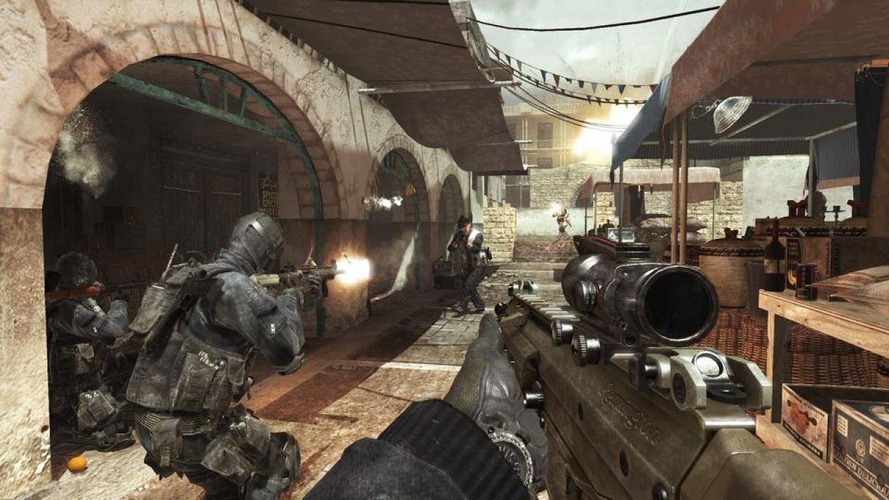hands on Call of Duty: Modern Warfare 3
