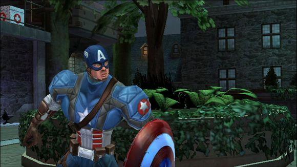 Captain America Wii
