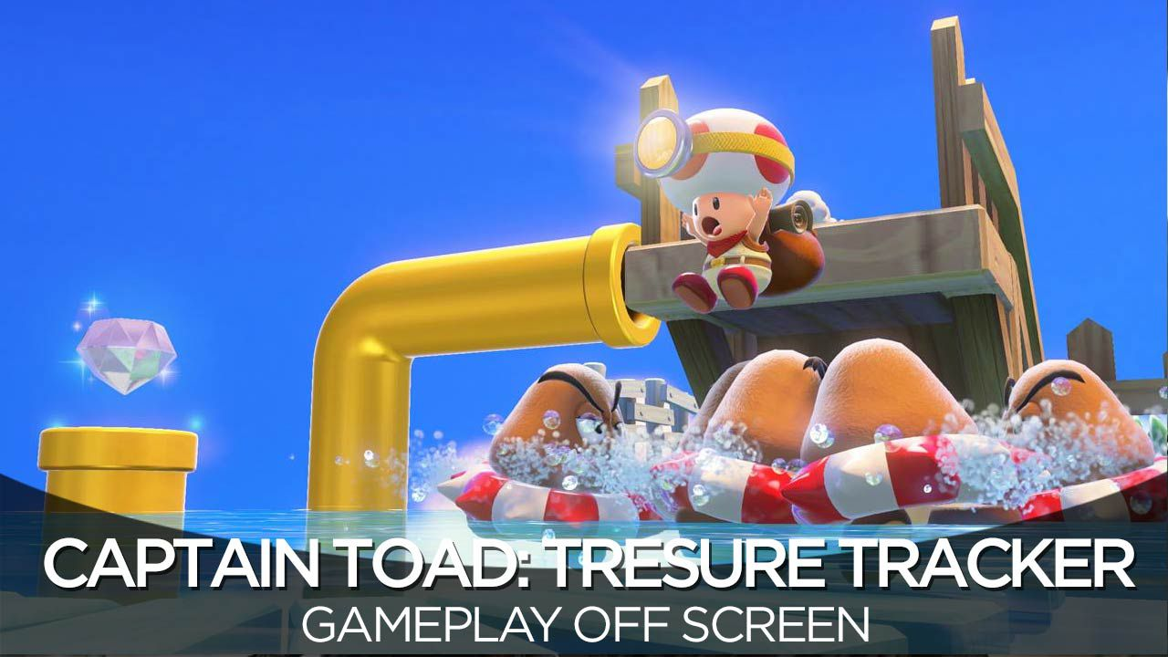 provato Captain Toad: Treasure Tracker