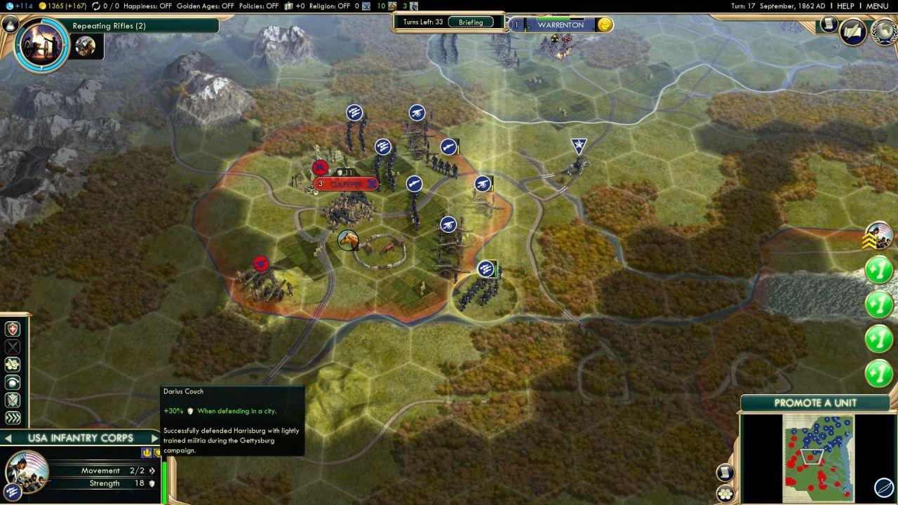 hands on Civilization V - Brave New World