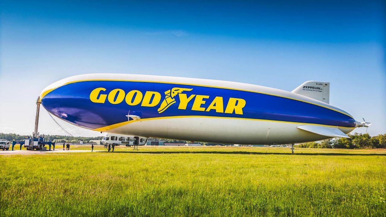 speciale Come Goodyear spiccó il volo: storia del dirigibile diventato un'icona pop